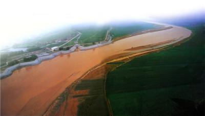 千年黄河,安澜高青