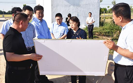 农发行山东省分行领导来高青县调研考察