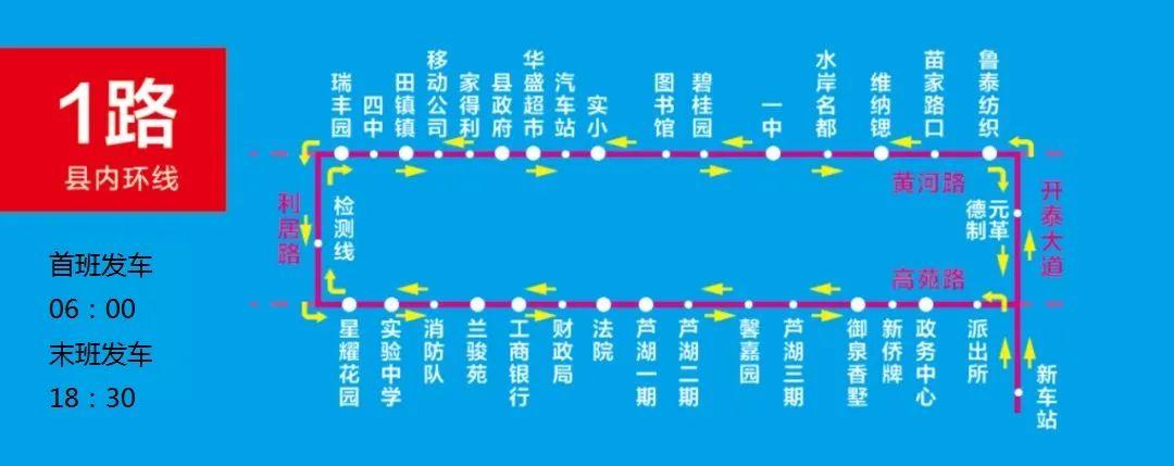 高青恒通公交发车时间及站点信息(2020年06月09日更新)